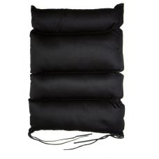 Cuscino dorsale in fibra cava siliconata a quattro sezioni
