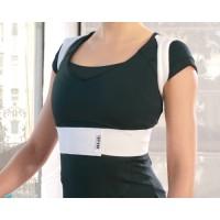 Raddrizzaspalle elastico con fascia addominale per controllo postura